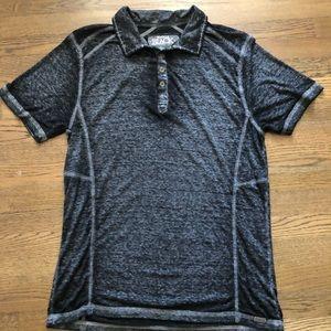 Buckle Black Slim Fit Polo